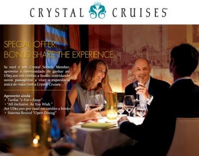 Oferta especial Crystal Cruise