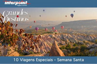 10 viagens especiais na Semana Santa