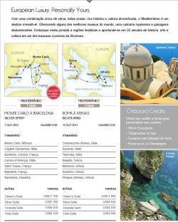 Silversea Mediterrâneo