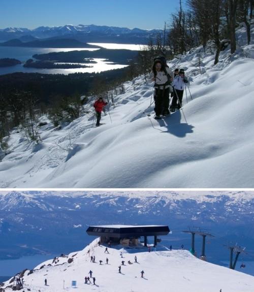 Bariloche na Argentina oferece esqui para todas as idades