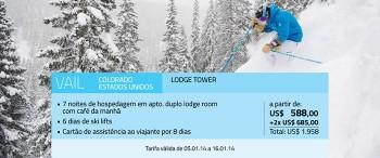 Ski nos melhores resorts dos Estados Unidos