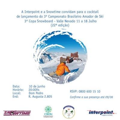 Convite Coquetel Campeonato Ski – 05/06/2008