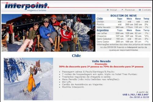 Ski América do Sul – 06/08/2008