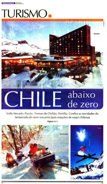 Chile abaixo de zero