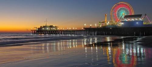 Santa Monica e seu estilo de vida