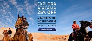 Promoção explora Atacama