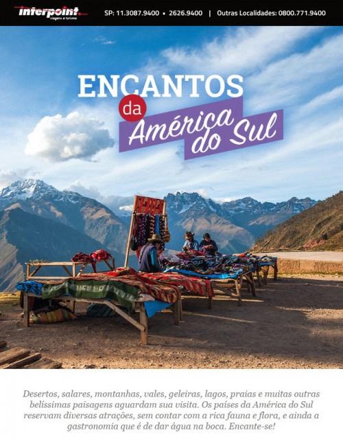 Viaje pelos melhores destinos da América do Sul