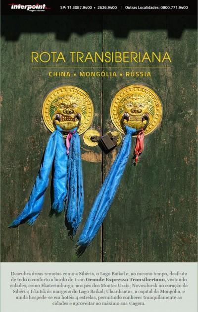 Explore a China, Mongólia e Rússia pela fantástica Rota Transiberiana. Confira!