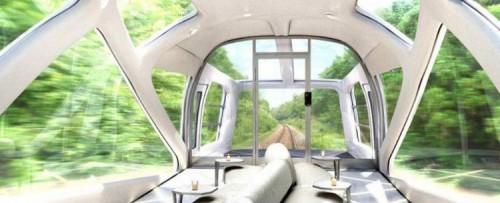 Japão terá trem luxuoso desenhado pela Ferrari