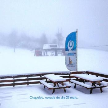 Já está nevando nos ski resorts da América do Sul!