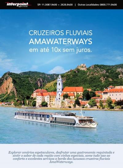 Cruzeiros Fluviais Amawaterways em até 10x sem juros!