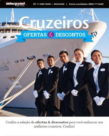 Seleção de Ofertas & Descontos para viajar nos melhores Cruzeiros