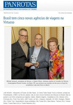 Brasil tem cinco novas agências de viagens na Virtuoso