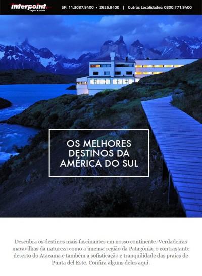 Os melhores destinos da América do Sul