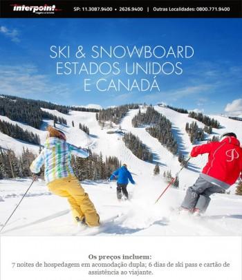 Ski Trip nos Estados Unidos e Canadá – Programe suas férias!