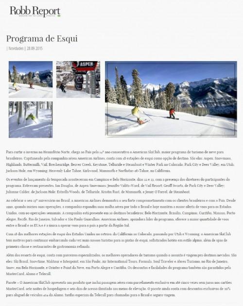 Programa de Ski