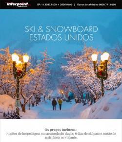★ Ski Trip nos Estados Unidos – Programe suas férias em família.