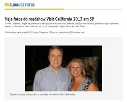 Veja fotos do roadshow Visit California 2015 em SP