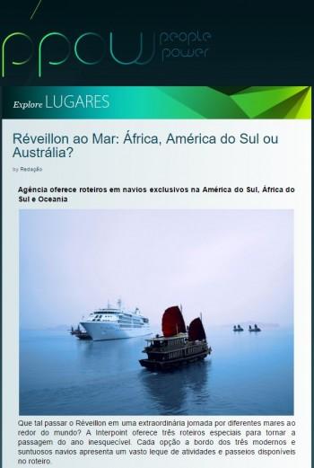 Réveillon ao Mar: África, América do Sul ou Austrália?