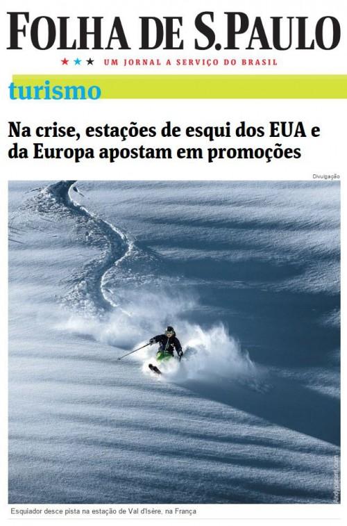 Na crise, estações de esqui dos EUA e da Europa apostam em promoções