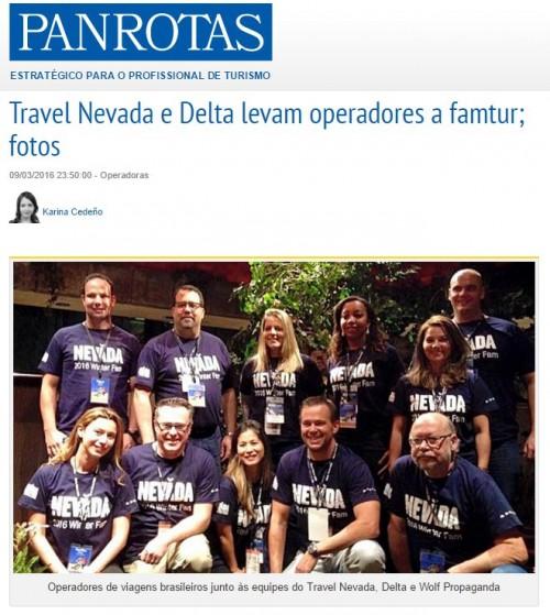 Travel Nevada e Delta levam operadores a famtur