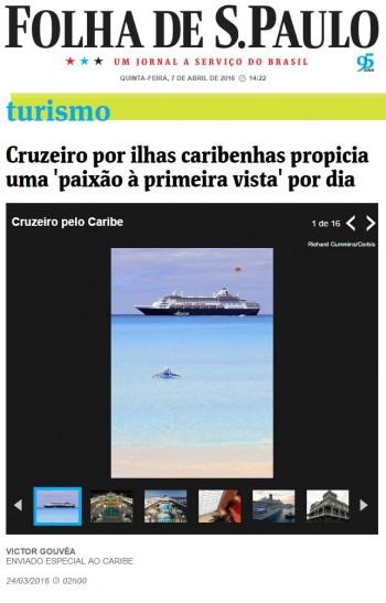 Cruzeiro por ilhas caribenhas propicia uma 'paixão à primeira vista' por dia