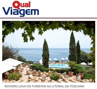 Roteiro leva turistas ao litoral da Toscana