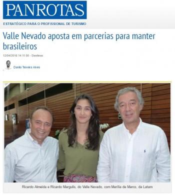 Valle Nevado aposta em parcerias para manter brasileiros