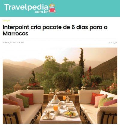 Interpoint cria pacote de 6 dias para o Marrocos