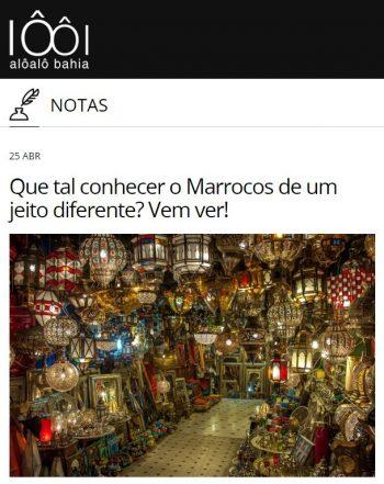 Que tal conhecer o Marrocos de de um jeito diferente? Vem ver?