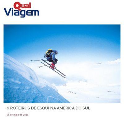 6 Roteiros de esqui na América do Sul