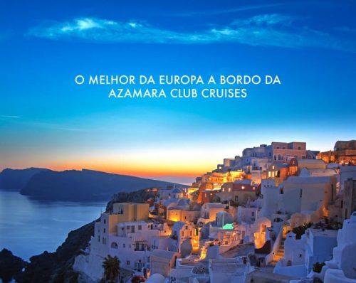 Descubra os destinos mais incríveis da Europa a bordo de um cruzeiro Azamara