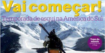 Vai começar! Temporada de Esqui na América do Sul