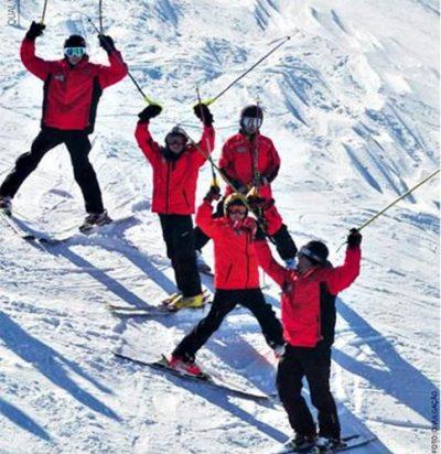 Esquiar em Chillán é muy rico