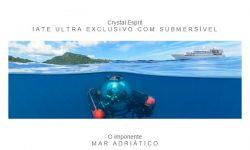A maré está favorável, programe sua viagem em um Crystal Cruises