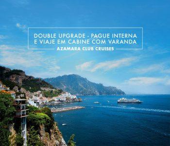 Cruzeiros Azamara – Pague interna e viaje em cabine com varanda!