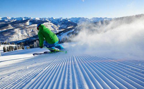 Vail é parque temático do esqui com pistas de vários níveis