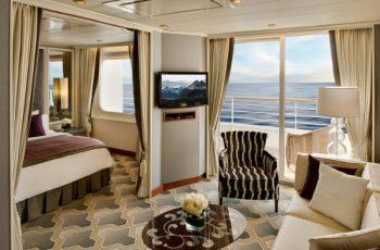 Crystal Cruises com aéreo gratuito!