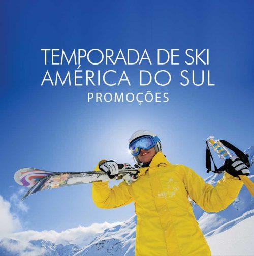 ★ Ski América do Sul – A temporada de Ski já começou e ainda tem promoções!