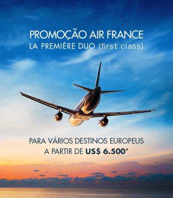 ★ Promoção – Passagem em Primeira Classe da Air France!