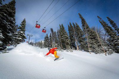 Estrutura das estações de esqui nos EUA é melhor para iniciantes