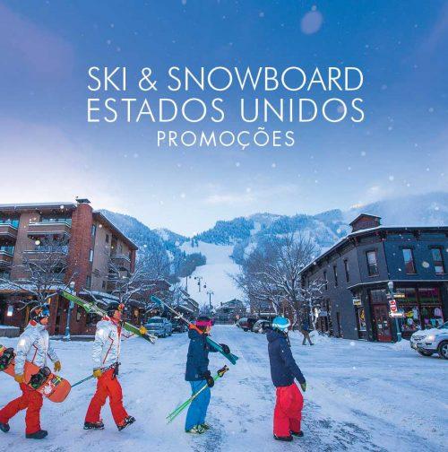 ❇ Muita NEVE no Colorado ❇ É hora de esquiar com a família.