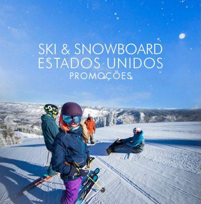 Promoções Ski América do Norte – Agora em 6 PARCELAS SEM JUROS!
