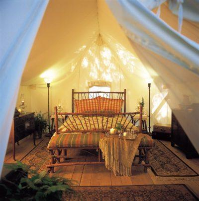 5 Acampamentos de luxo para viver e sentir o melhor da natureza