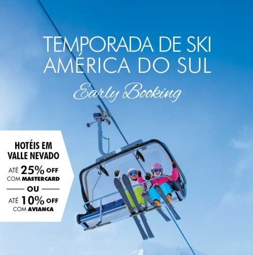 ★ Ski América do Sul – Programe já suas férias de Julho e pague em 6x sem juros.
