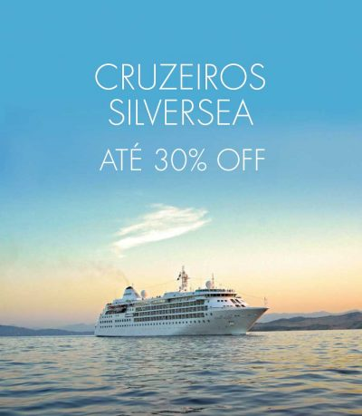 ★ Viagens de Cruzeiro Silversea com até 30% de Desconto!
