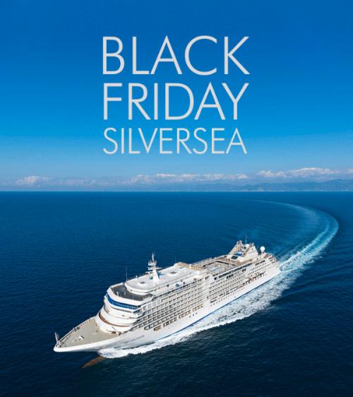★ Black Friday – Cruzeiros Silversea