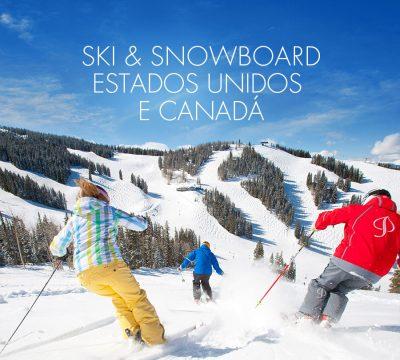 Ski Trip EUA e Canadá – Aproveite os melhores preços e pague em até 6x sem juros!