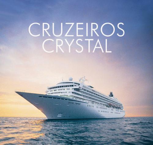 ★ Crystal Cruises – América do Sul – Pague em 6x sem juros!