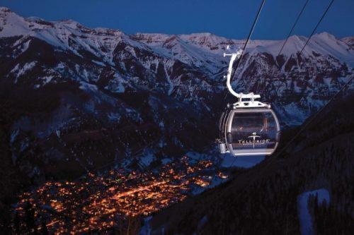 Telluride o nirvana do ski na América do Norte